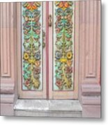 Mexican Doorway 3 Metal Print