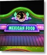 Mexican Food Metal Print