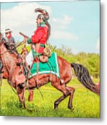Mexican Horse Soldiers Metal Print