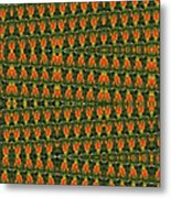 Mexican Poppy Field Abstract Metal Print