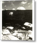 Mexican Seascape Metal Print
