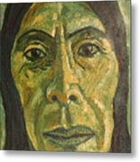 Mexican Woman Metal Print
