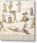Mexico: Indian Punishments Metal Print