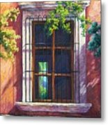 Mexico Window Metal Print