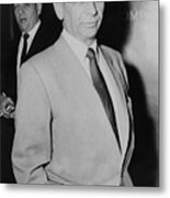 Meyer Lansky 1902-1983, Underworld Metal Print by Everett