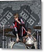 Mgk Drums Metal Print