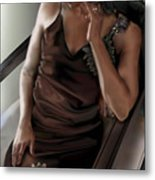 Mi Chica-beauty From Within Metal Print