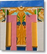 Miami Beach Art Deco Metal Print