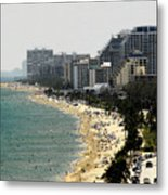 Miami Beach Fla Metal Print