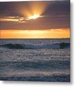 Miami Beach Florida Sunrise Metal Print