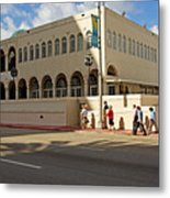 Miami Beach Synagogue Saturday Morning Metal Print