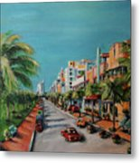 Miami For Daisy Metal Print by Dyanne Parker