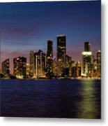Miami Nights Metal Print