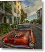 Miami Ride Metal Print