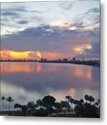Miami Sunrise Part 1 Metal Print
