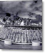 Miami's Bayfront Park Fountain Metal Print