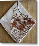 Micah - Tile Metal Print