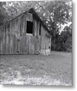 Micanopy Barn Metal Print