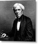 Michael Faraday, English Physicist Metal Print