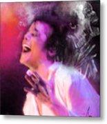 Michael Jackson 11 Metal Print