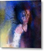 Michael Jackson 16 Metal Print by Miki De Goodaboom