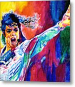 Michael Jackson Force Metal Print
