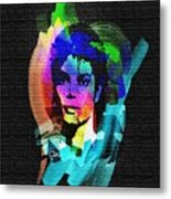 Michael Jackson Metal Print by Mo T