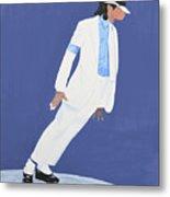 Michael Jackson Smooth Criminal Metal Print