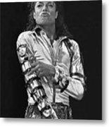 Michael Jackson - The King of Pop Metal Print