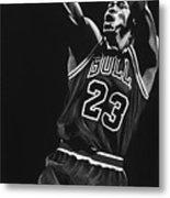 Michael Jordan Metal Print by Don Medina