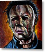 Michael Myers 2 Metal Print