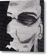 Halloween Character Metal Print