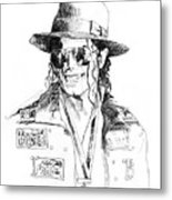 Michael's Jacket Metal Print