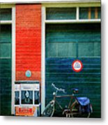 Michel De Hey Bicycle Metal Print