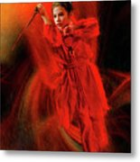 Michelle Ahl To The Rescue Metal Print