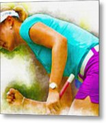 Michelle Wie Finally Won Her First Major Championship Metal Print