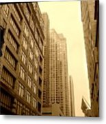 Michigan Ave. Metal Print