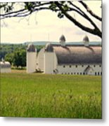 Michigan Barn 1 Metal Print