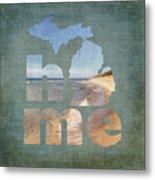 Michigan Home Metal Print