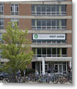 Michigan State University Welcome To Akers Signage Metal Print