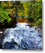 Michigan Waterfall Metal Print