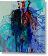 Mick Jagger Metal Print by Naxart Studio