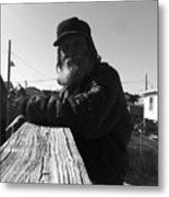 Mick Lives Across The Street Not In The Streets Metal Print