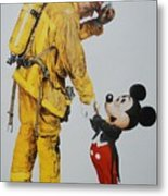 Mickey And The Bravest Metal Print