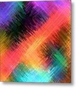 Micro Linear 14 Metal Print