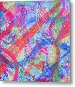 Microcosm II Metal Print