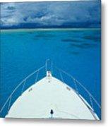 Micronesia, Boat Bow Metal Print