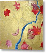 Midas Fall Metal Print