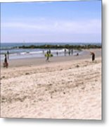Midday At Venice Beach Metal Print