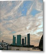 Midday In Miami 2 Metal Print